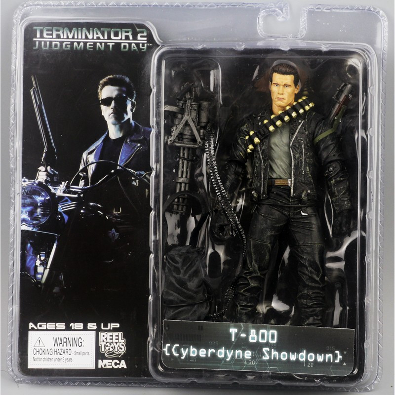 Фигурка NECA Терминатор T-800 Terminator 2 Judgment Day Cyberdyne Showdown