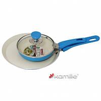 Набор сковород 14см и 22см с керамическим покрытием KM0615