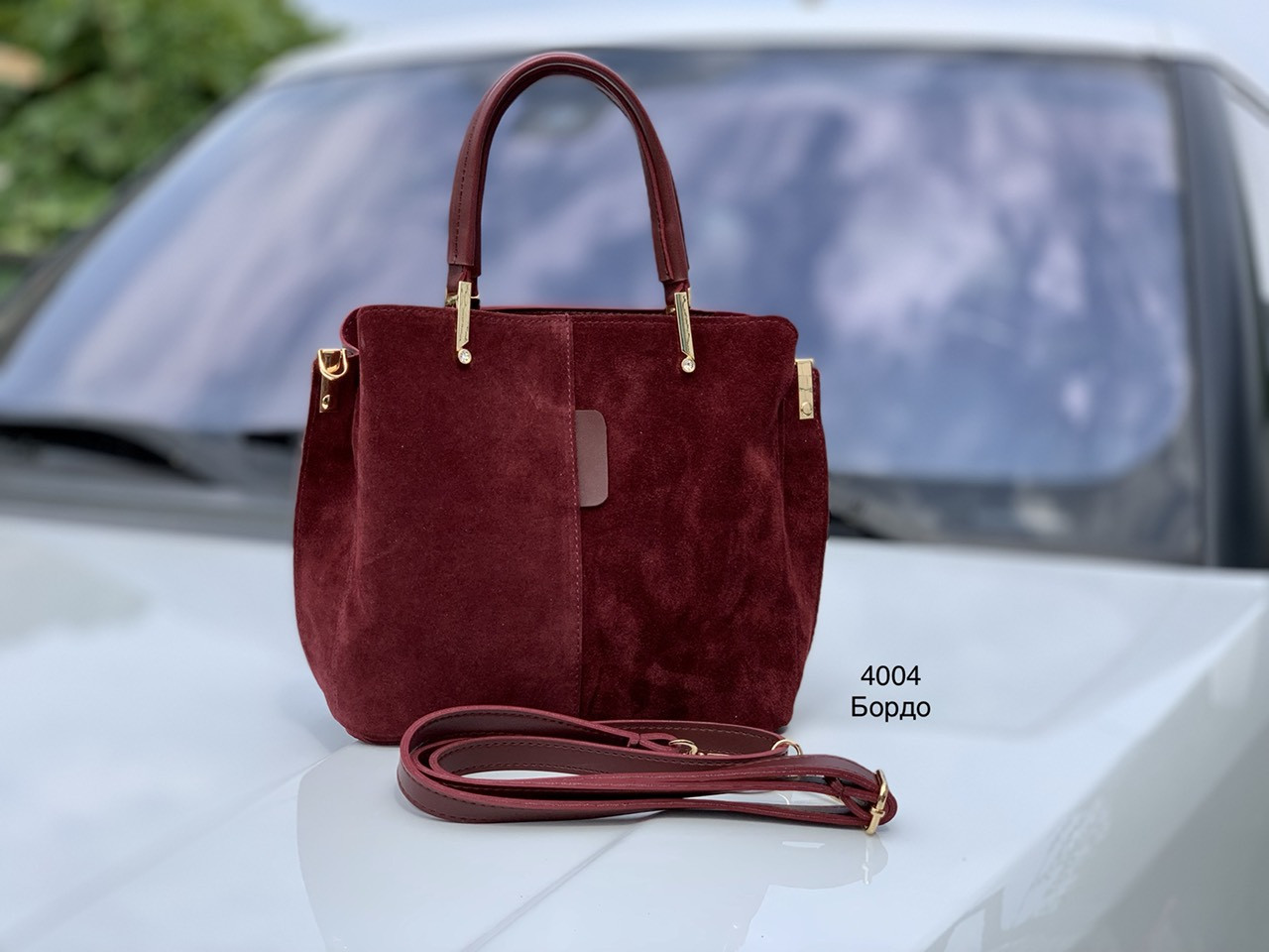 Женская сумочка из натуральной замши В наличии 6 цветов