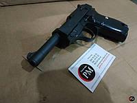 Игрушка металлический пневматический пистолет Walther P38  (Galaxy G21)