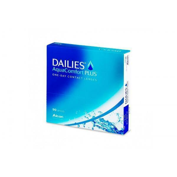 Контактная линза(90шт)Dailies AqvaComfort