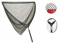 Carp Landing Net, 1 section handle, 107x107x180cm (Карповый подсак, ручка с одной части,6мм зеленая сетка)