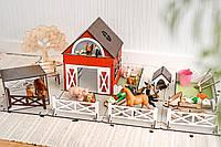 Игрушечная ферма для детей без животных