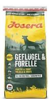 Корм для собак (Йозера) Josera Geflugel & Forelle 15 кг беззерновой корм для взрослых собак с птицей и форелью