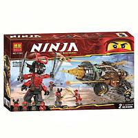 """Конструктор Ninja Bela 11163 """"Земляной бур Коула"""" (аналог Lego Ninjago 70669), 610 дет, фото 1"""