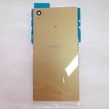 Задняя крышка Sony Xperia Z5 / E6603 / E6653 / E6683 Gold