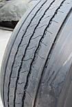 Грузовая шина б/у 385/65 R22.5 Bridgestone R-Steer 001, 8 мм, 2017 г., одна, фото 6