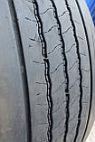 Грузовая шина б/у 385/65 R22.5 Bridgestone R-Steer 001, 8 мм, 2017 г., одна, фото 7
