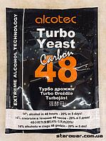 Alcotec Дрожжи спиртовые 48TURBO Carbon
