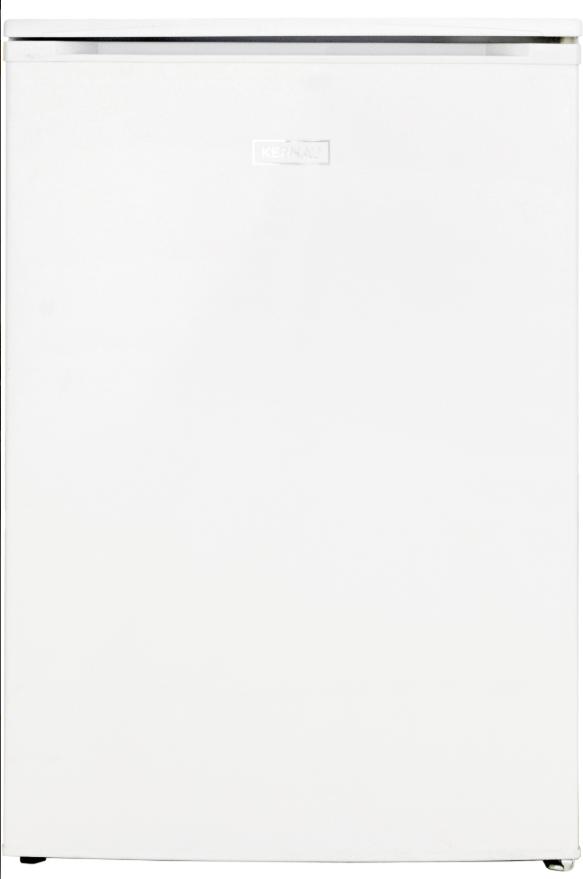 Отдельностоящий холодильник с морозильником Kernau KFR 08252 W