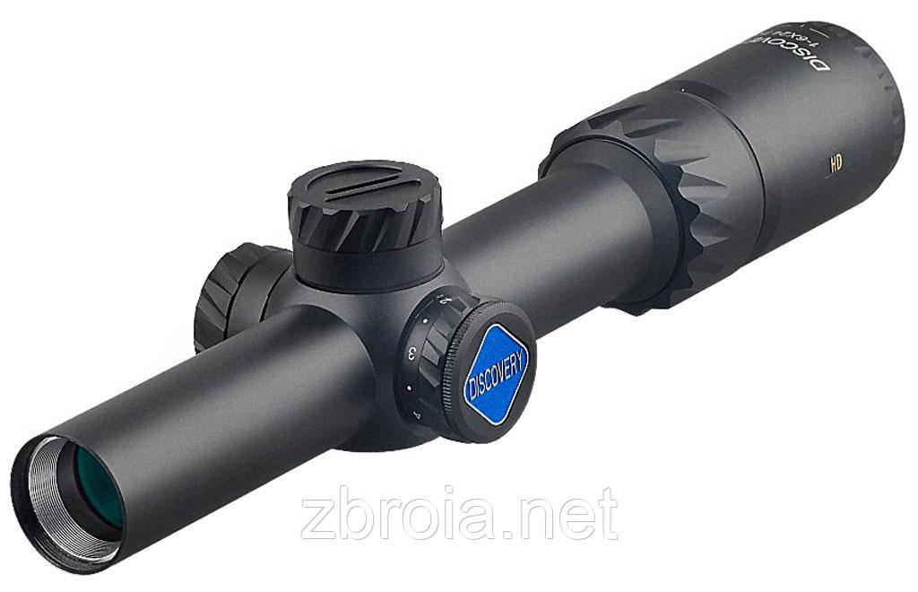 Приціл Discovery Optics HD 1-6x24 IR-MOA SFP (30 мм, підсвітка)