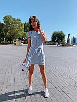 Женское красивое платье мини на лето - три расцветки, фото 2