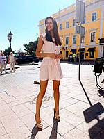 Женское красивое платье мини на лето - три расцветки, фото 4