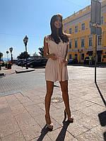 Женское красивое платье мини на лето - три расцветки, фото 5