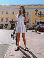 Женское красивое платье мини на лето - три расцветки, фото 6