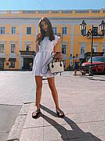 Женское красивое платье мини на лето - три расцветки, фото 7