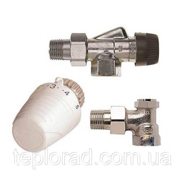 Комплект термостатический Honeywell VTL320 осевой 1/2