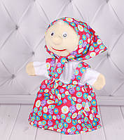 Игрушка рукавичка для кукольного театра Бабушка, кукла перчатка на руку, фото 1