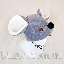 Дитяча маскарадна шапочка Мишка