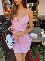 Яркое платье мини на лето - в расцветки, фото 2