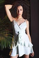Яркое платье мини на лето - в расцветки, фото 3