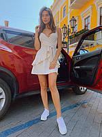 Яркое платье мини на лето - в расцветки, фото 7