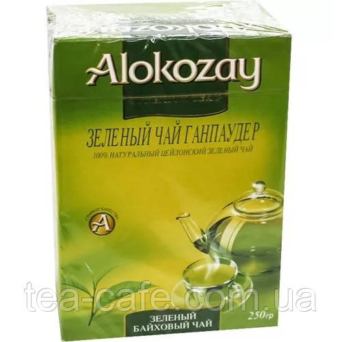 Чай зеленый Alokozay 250 гр.