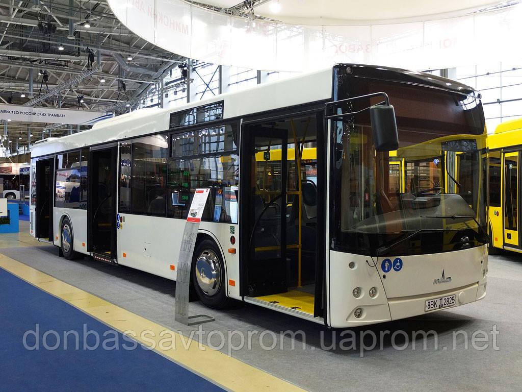 Новый городской автобус МАЗ 203 058