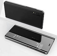 Чехол Книжка для Huawei P30 с зеркальной поверхностью (Разные цвета)