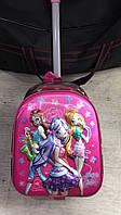 Рюкзак чемодан детский на колесах школьный David Polo