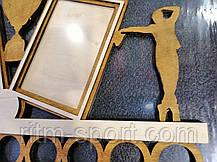 Медальница з рамками під фото і фігурками танцюристів, фото 2