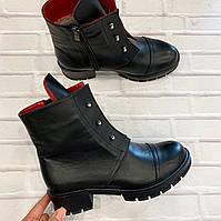 Ботинки женские зима стильные  кожа cats 37р