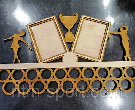 Медальница с рамками под фото и фигурками танцоров, фото 2