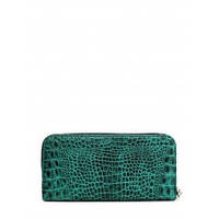 Кошелек crocodile-wallet POOLPARTY Зеленый