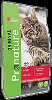 Корм для кошек ProNature Chicken & Lamb
