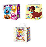 Подарочные пакеты детские размер 16 х 16 см (12 шт/уп)