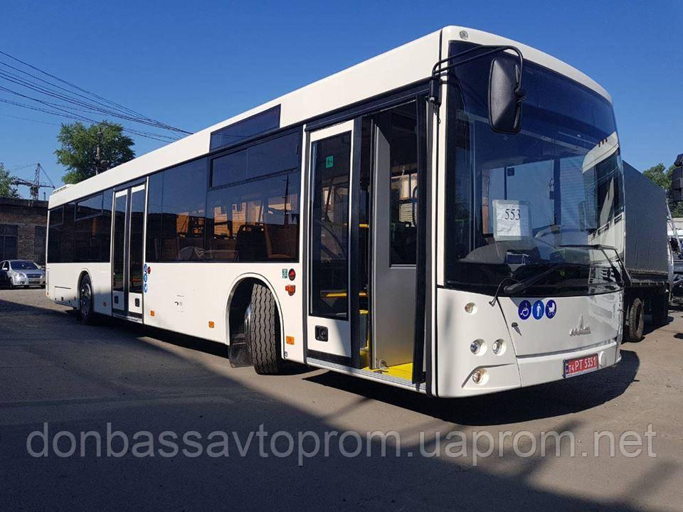 Новый пригородный автобус МАЗ 203 169