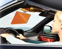 Антибликовый козырек для автомобиля HD Vision Visor Clear View от солнца, фонарей, фар