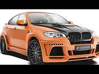 Обвес BMW X6 E71 в X6M Hamann Model 2 Wide-body Central exhaut