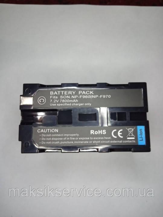 Аккумуляторная батарея для фотокамеры SONY NP-F960/NP-970 7800mAh
