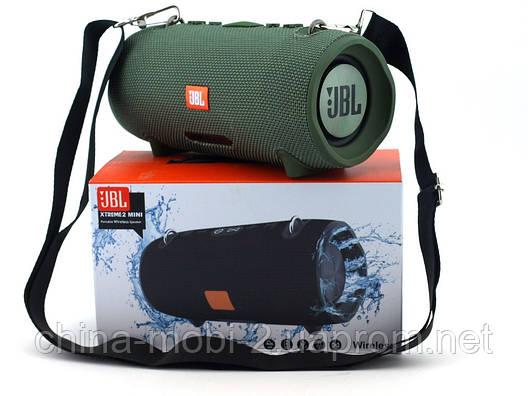 JBL XTREME 2 mini 16W копия, Bluetooth колонка с FM MP3, зеленая, фото 2
