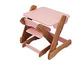Детский столик и стульчик розовый от производителя! (с регулировкой), фото 2