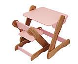Детский столик и стульчик розовый от производителя! (с регулировкой), фото 3