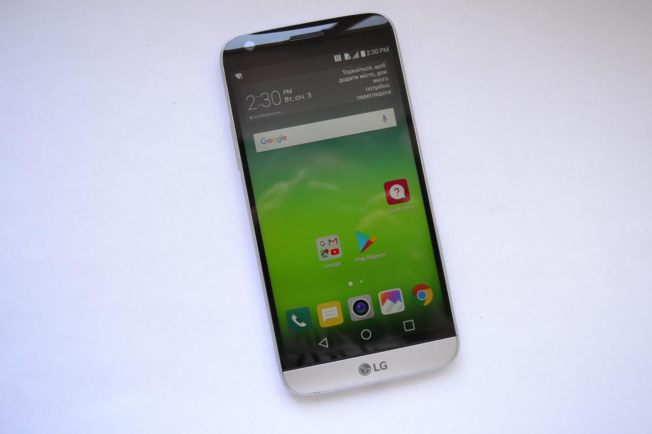 Смартфон LG G5 LS992 Silver - 4Gb RAM, 32Gb Оригинал!
