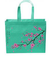 Эко сумка Tashima  с молнией размер 385*320*12 длинная ручка