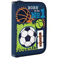 Пенал школьный для мальчика Football 1 Вересня 532705, фото 1