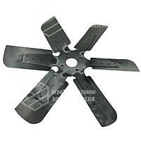 Вентилятор системы охлаждения ЯМЗ-236-238 (железо) (d=560 мм) (90 мм шир. лоп.) (6 лопостей)
