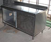 Стол производственный из нержавеющей стали с полкой 1500х700х830 см., (Украина), Б/у, фото 1