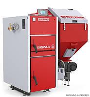 Котел твердотопливный Sigma Uni 24 кВт DEFRO