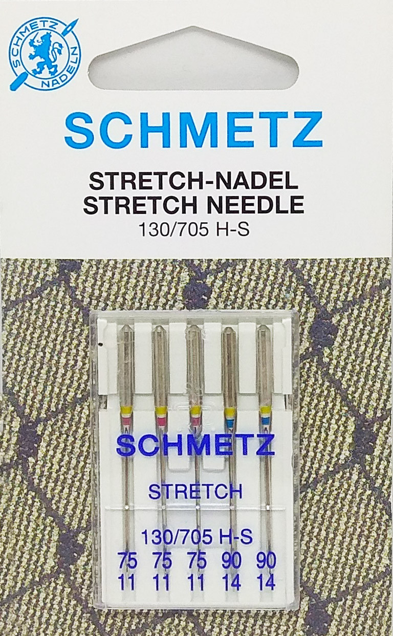 Иглы для стрейча Schmetz ассорти №75-90